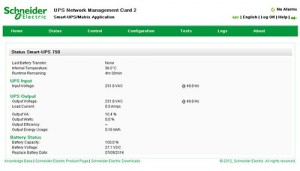 AP9630/31 NMC2 Card