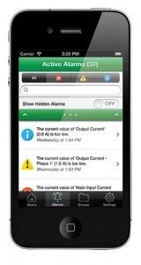 Struxureware iPhone Application