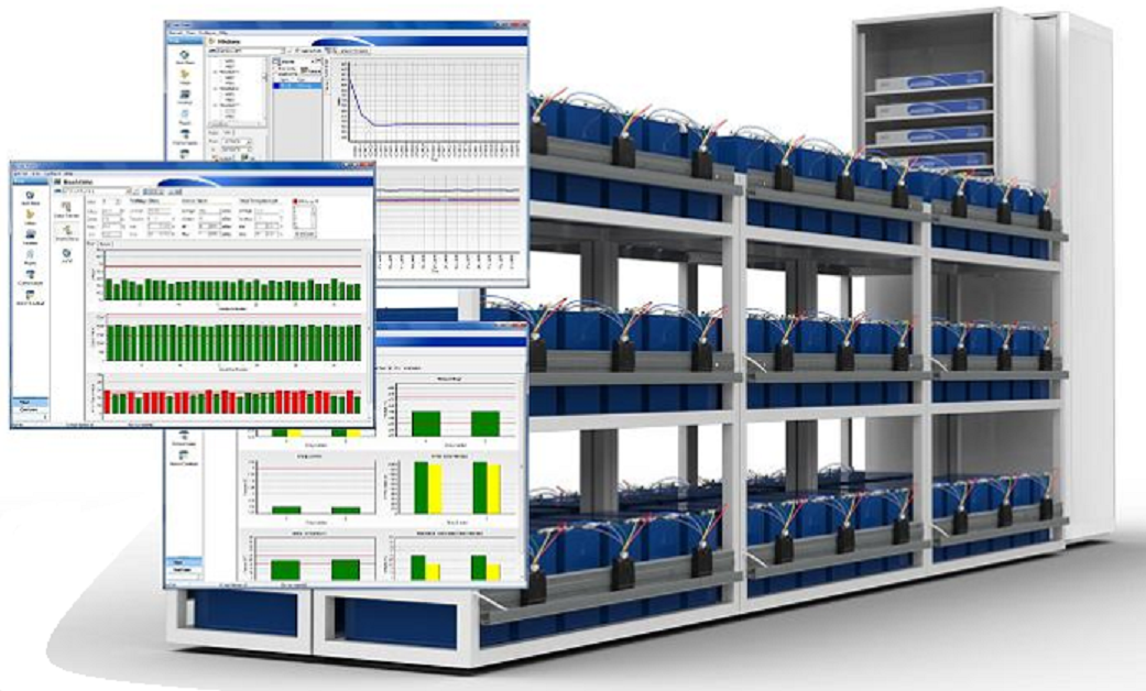 Three Bank Battery Monitoring System : Battery monitoring total power solutions